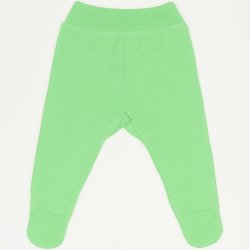 Pantaloni cu botosei banda irish green
