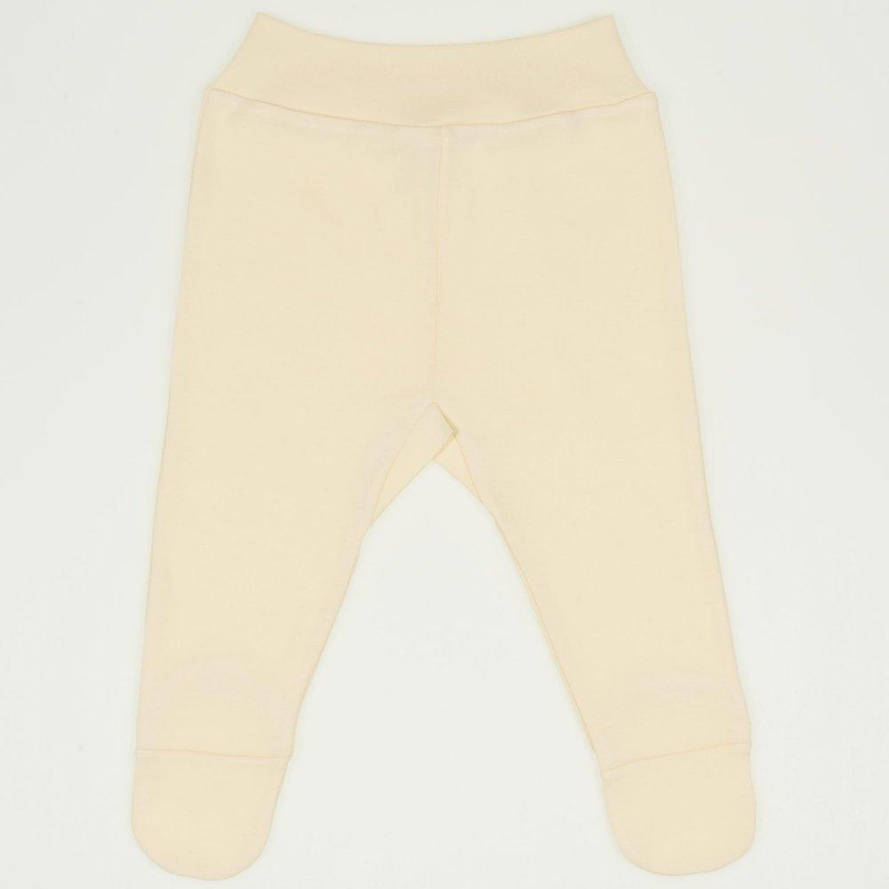 Pantaloni cu botosei banda vanilla custard    liloo