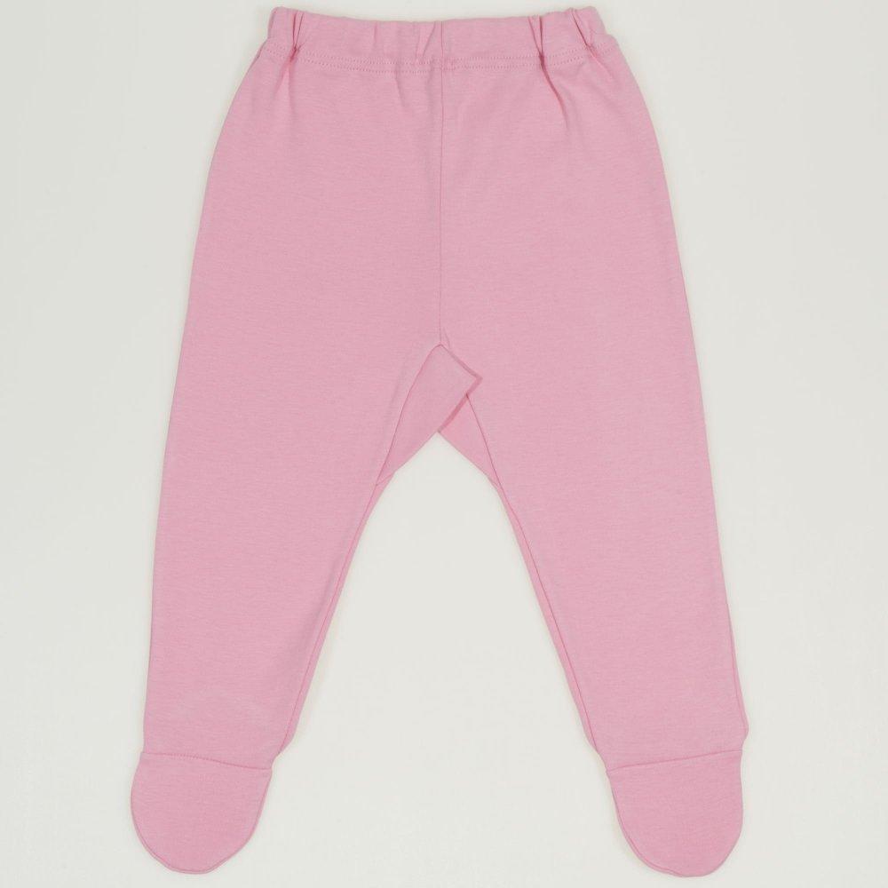 Pantaloni cu botosei si elastec roz | liloo