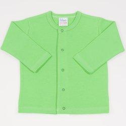 Irish green long-sleeve center-snap tee