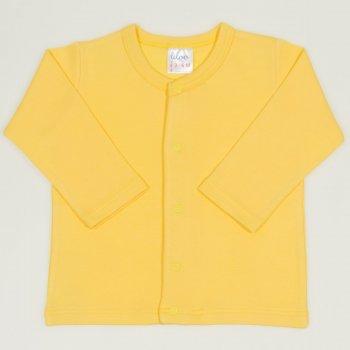 Bluza bebelusi cu maneca lunga si inchidere frontala minion yellow| liloo