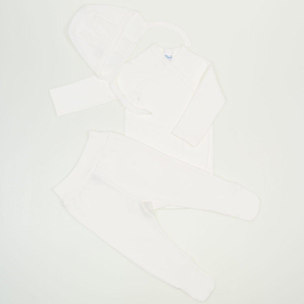 Set bebelusi 3 piese blanc de blanc | liloo