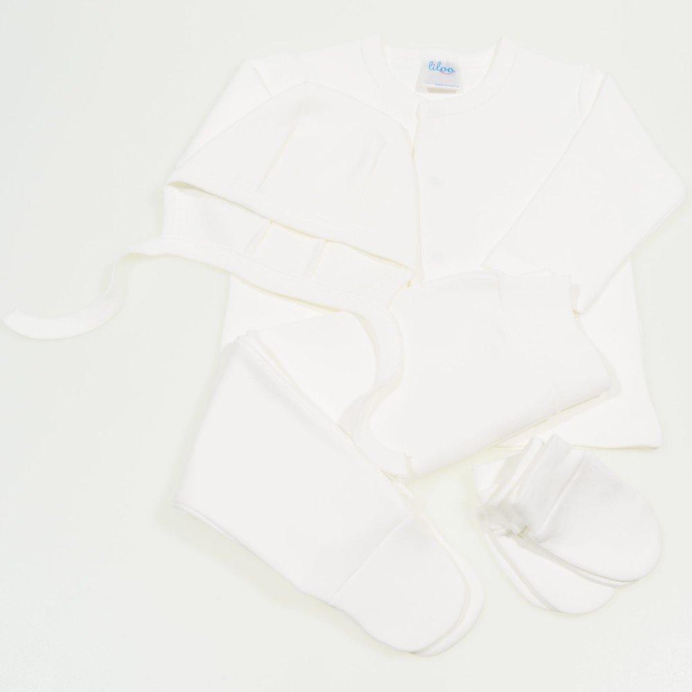 Set bebelusi 4 piese blanc de blanc | liloo