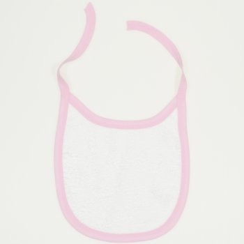 Bavetica (barbita) alb & roz | liloo