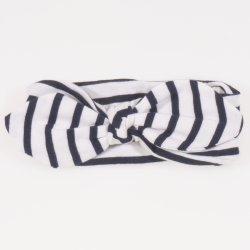 Bentita fetite - alba cu dungi negre