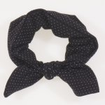 Bentita fetite - neagra model puncte albe | liloo.ro