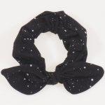 Bentita fetite - neagra model stropi albi | liloo