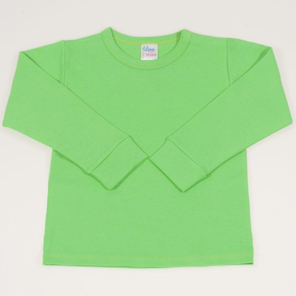 Bluza casa maneca lunga irish green   liloo