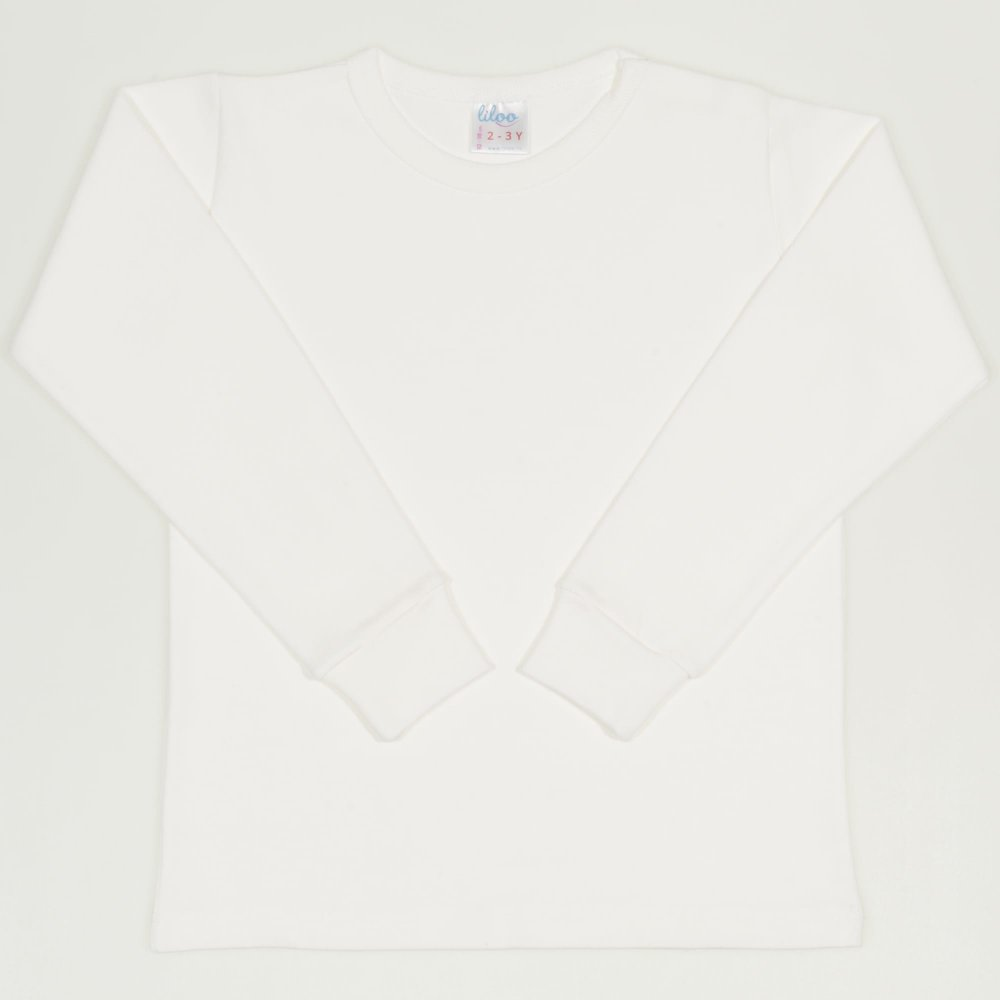Bluza casa maneca lunga blanc de blanc | liloo