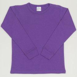 Bluza casa maneca lunga mov deep lavender