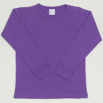 Bluza casa maneca lunga mov deep lavender | liloo