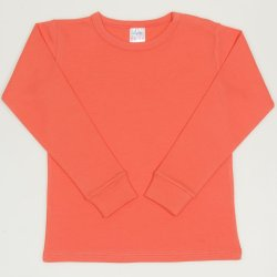 Salmon living coral long-sleeve undershirt