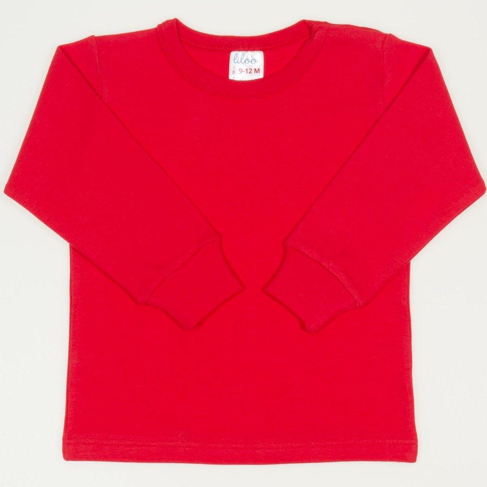 Bluza casa maneca lunga rosu tomato | liloo