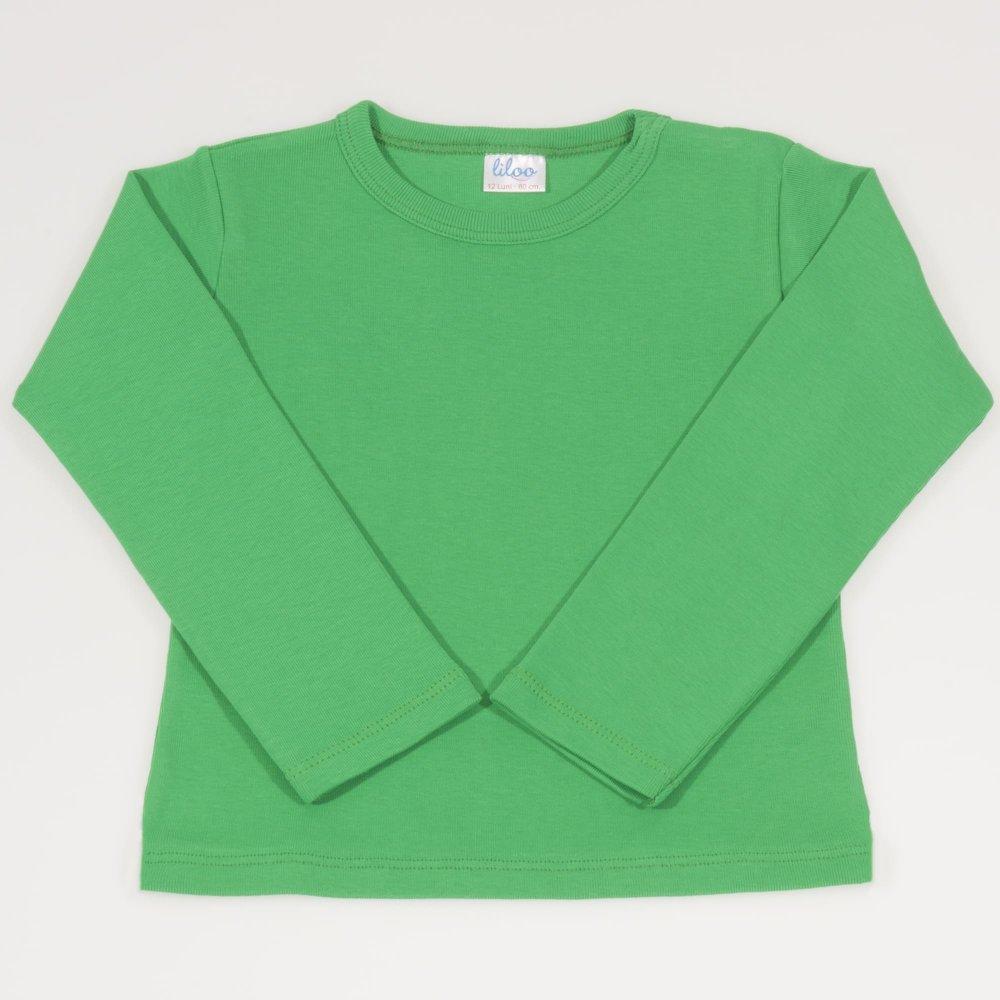 Bluza casa maneca lunga verde inchis | liloo
