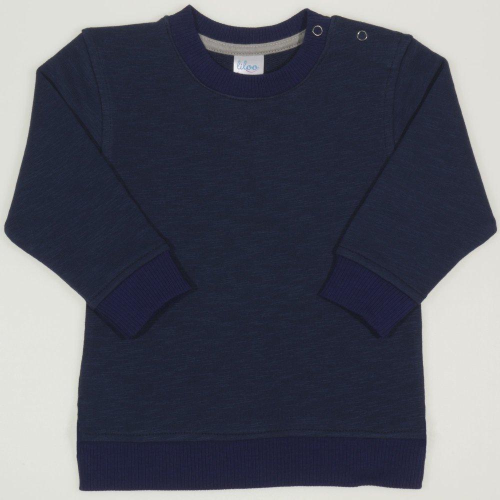 Bluza trening albastru inchis | liloo.ro