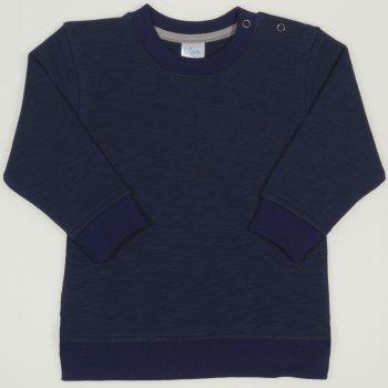 Bluza trening subtire albastru inchis | liloo.ro