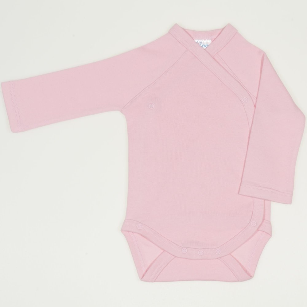 Body capse laterale maneca lunga orchid pink uni | liloo