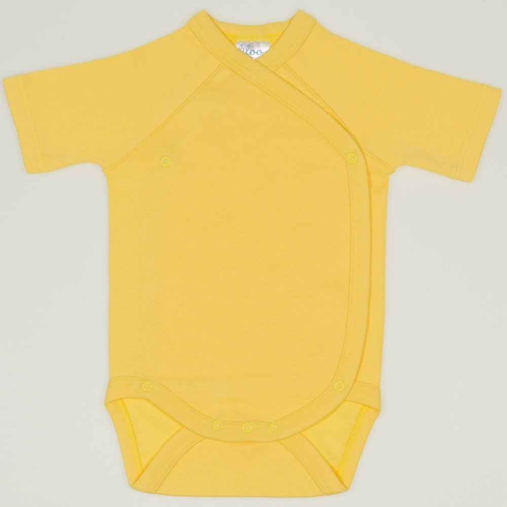 Body capse laterale maneca scurta minion yellow uni | liloo