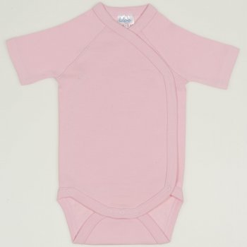 Body capse laterale maneca scurta orchid pink uni | liloo