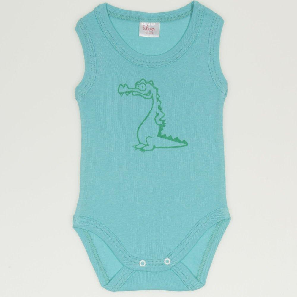 Body maiou aqua imprimeu crocodil | liloo