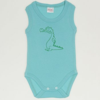 Body maiou aqua imprimeu crocodil | liloo