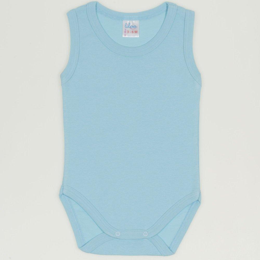 Body maiou bleu petit four uni| liloo