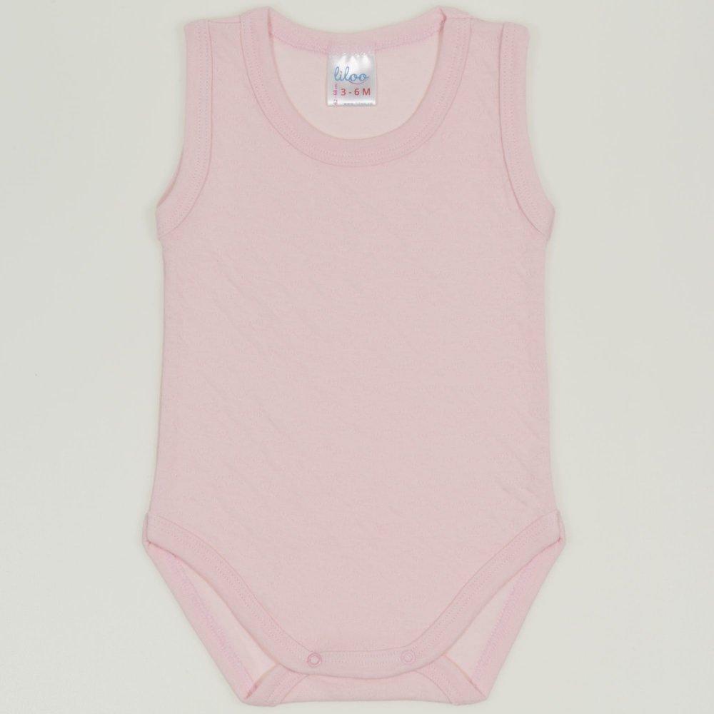 Body maiou roz pal - material multistrat premium cu model | liloo