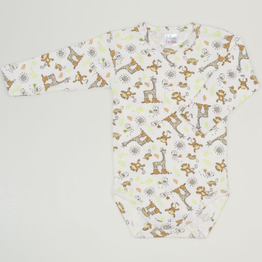 Body maneca lunga imprimeu model jungle| liloo