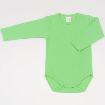 Body maneca lunga irish green
