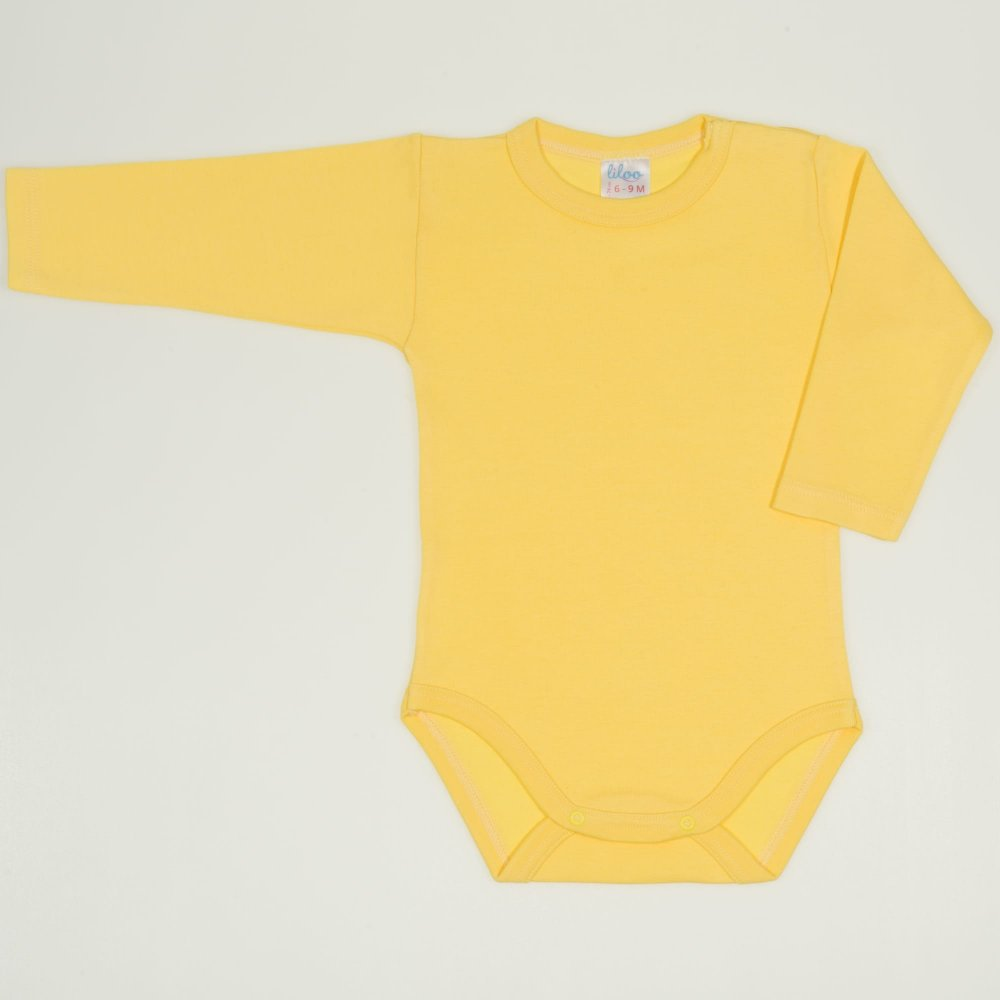Body maneca lunga minion yellow uni | liloo