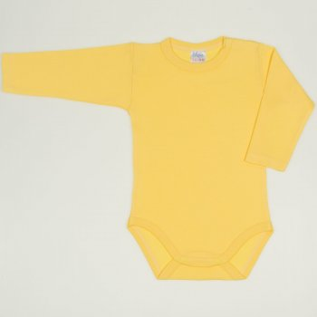 Body maneca lunga minion yellow uni