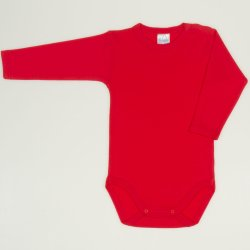 Red tomato long-sleeve bodysuit