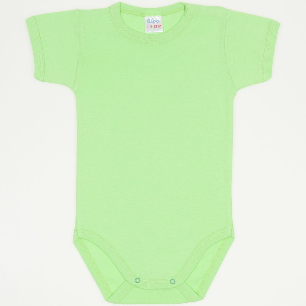 Body maneca scurta summer green uni | liloo