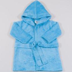 Blue topaz premium bathrobe