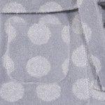 Halat de baie gri cu buline | liloo
