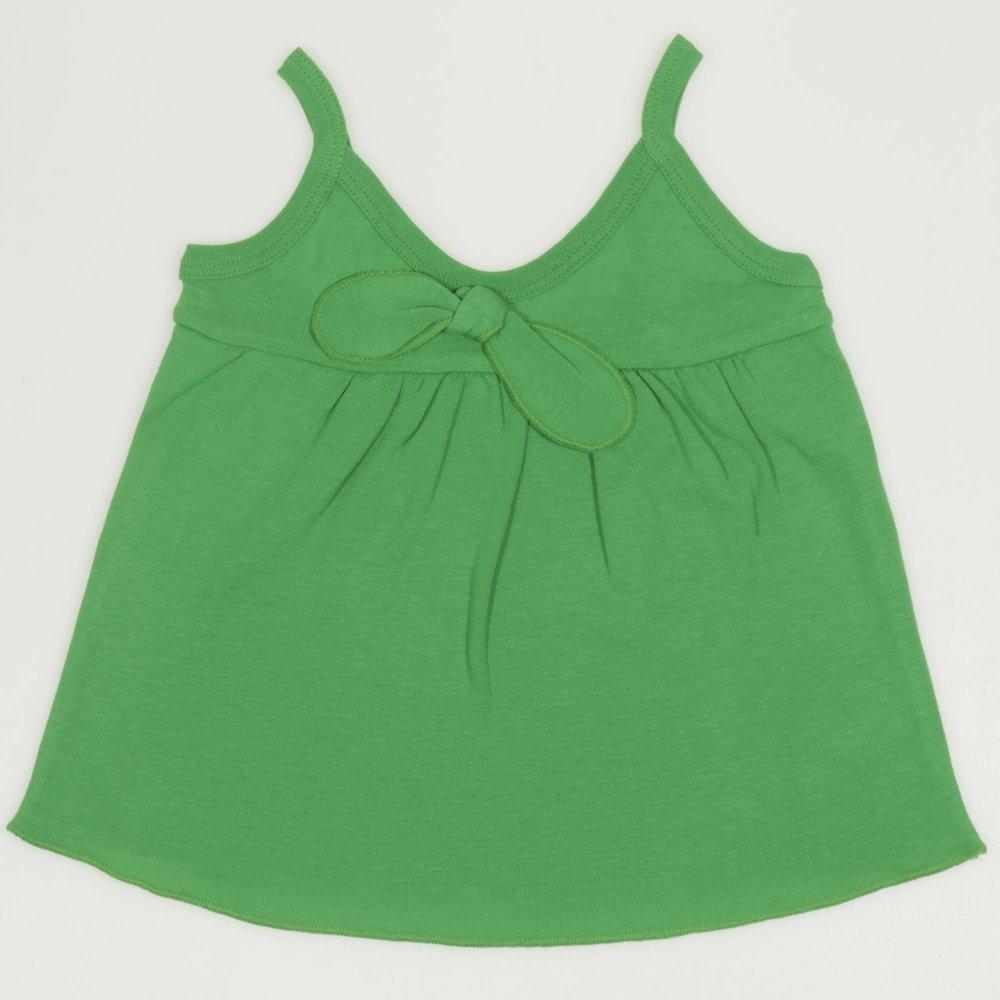 Maiou bretele verde pentru fetite | liloo