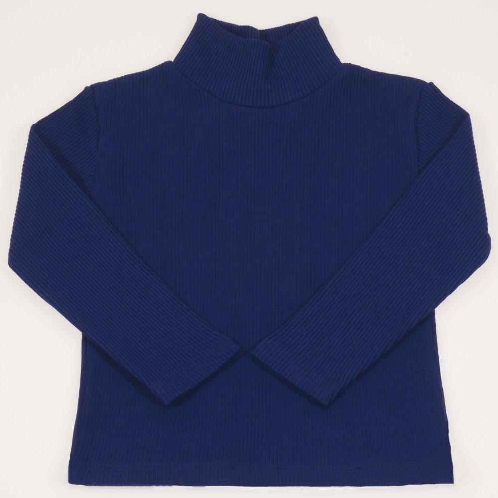 Helanca (maleta) groasa albastru inchis | liloo