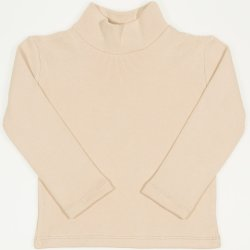 Beige thick turtleneck