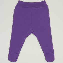 Purple deep lavender footies
