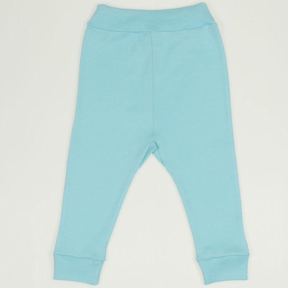 Pantaloni de casă cu manşetă (izmene copii) blue radiance | liloo