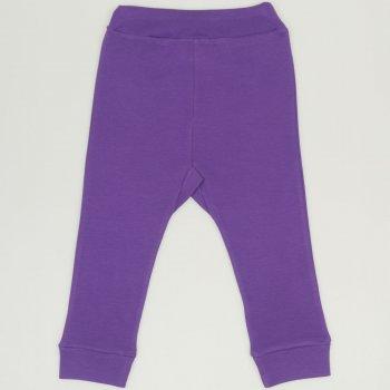 Pantaloni de casă cu manşetă (izmene copii) mov deep lavender| liloo