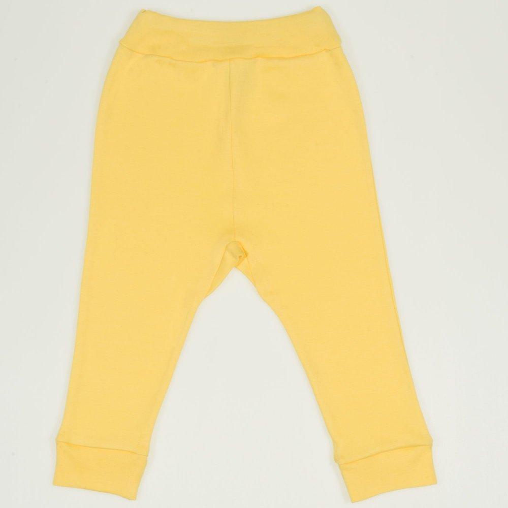 Pantaloni de casă cu manşetă (izmene copii) minion yellow | liloo