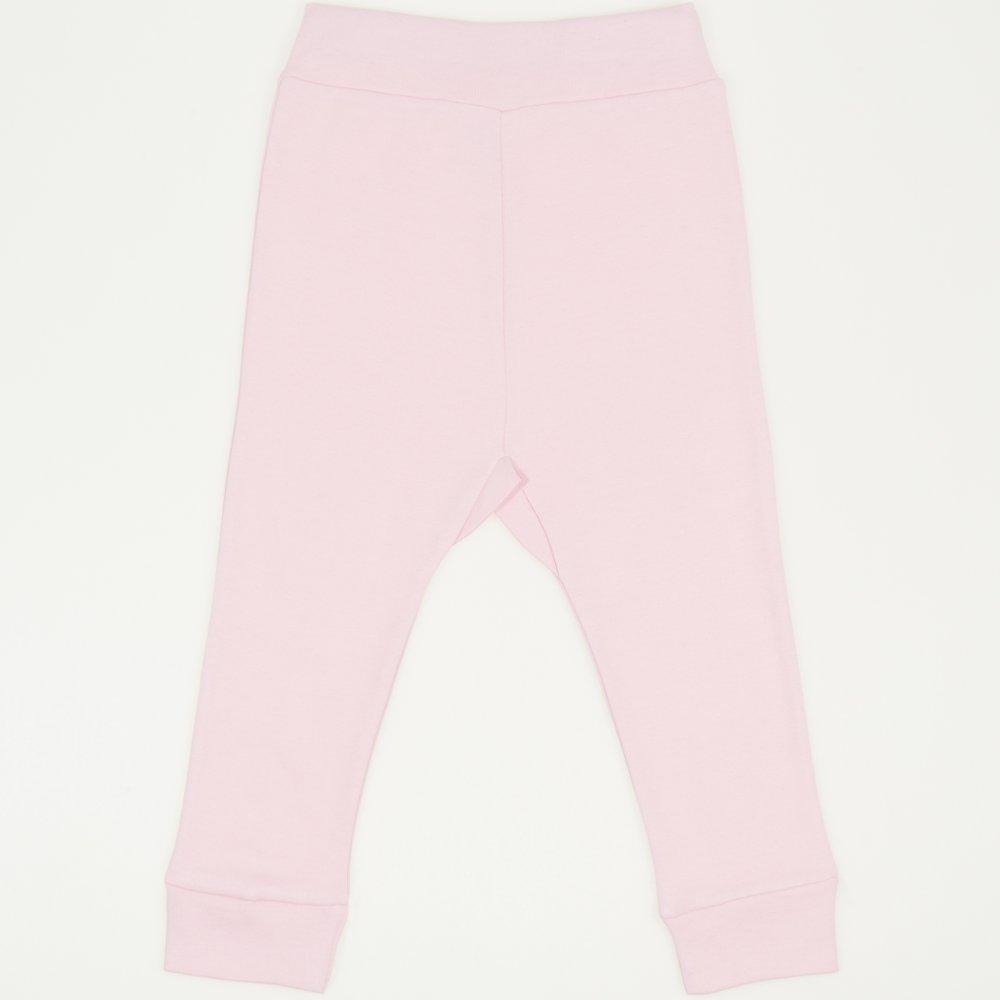 Pantaloni de casa cu manseta (izmene copii) orchid pink | liloo
