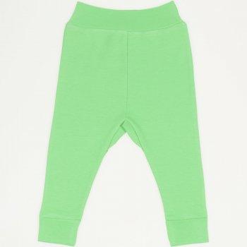 Pantaloni de casa cu manseta (izmene copii) irish green | liloo