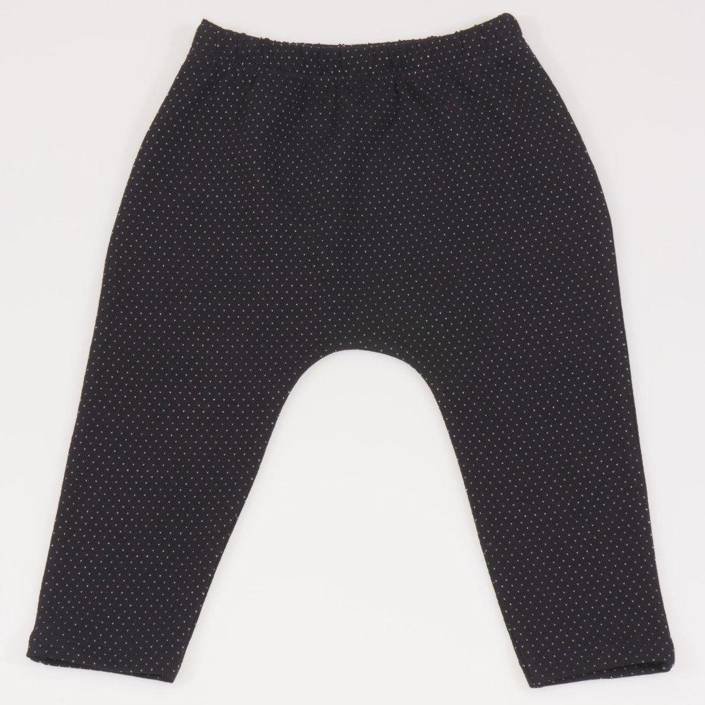 Pantaloni negri model puncte albe | liloo