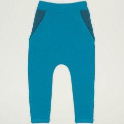 Pantaloni trening cu tur enamel-blue