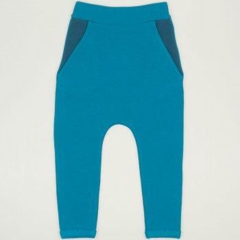 Pantaloni trening cu tur enamel-blue | liloo.ro