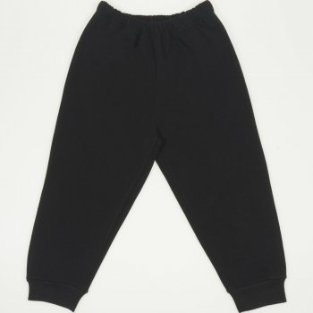 Pantaloni trening grosi negri | liloo