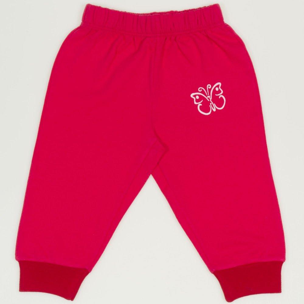 Pantaloni trening subtiri siclam imprimeu fluturas | liloo