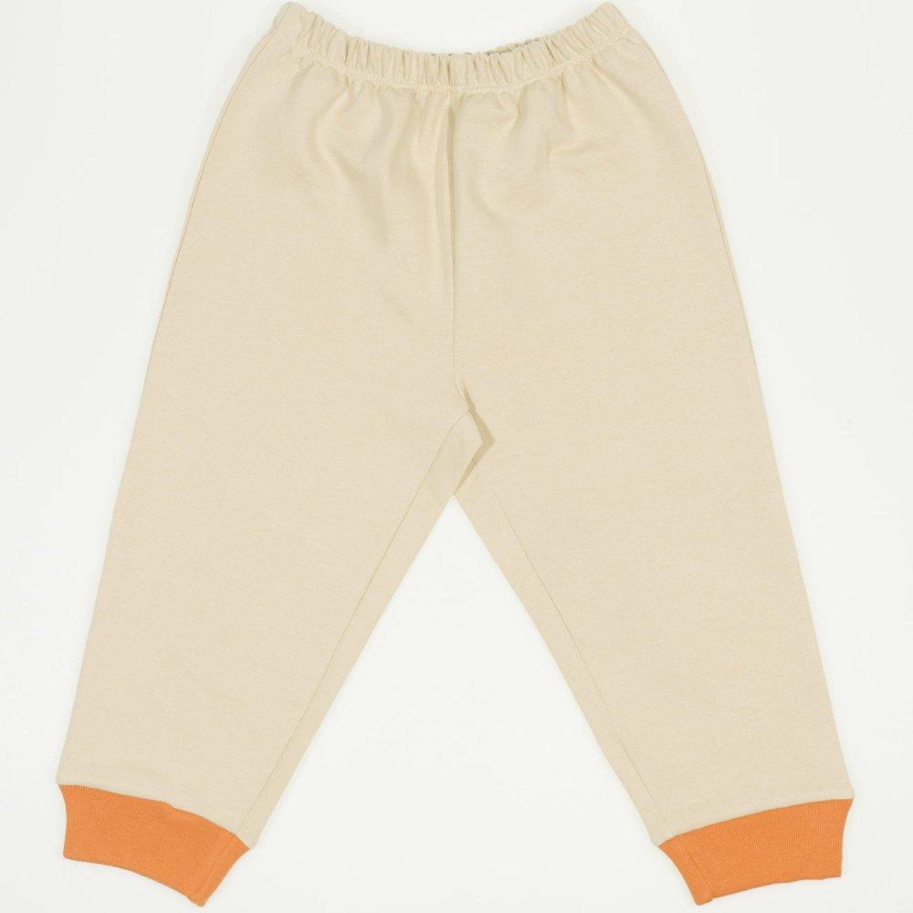 Pantaloni trening subtiri bej | liloo